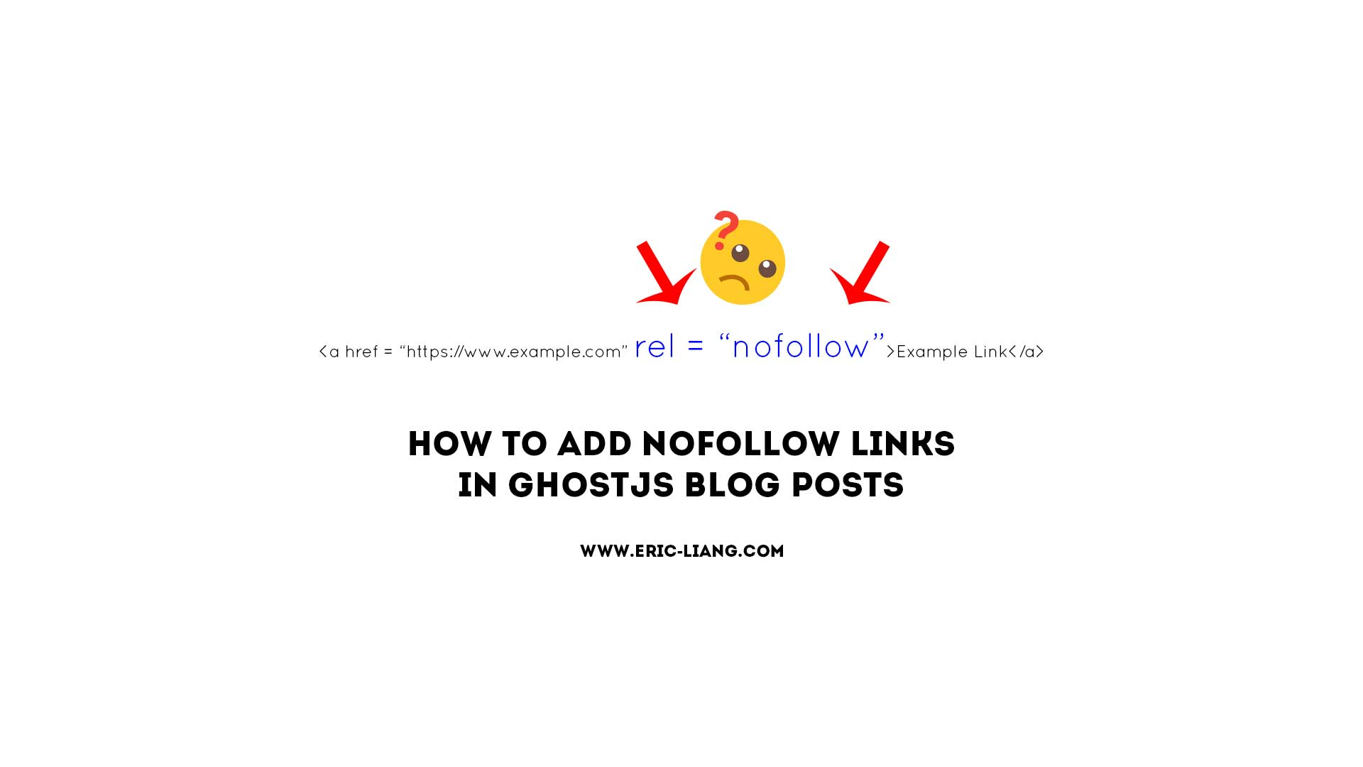 How To Add NoFollow Links In GhostJS Blog Posts